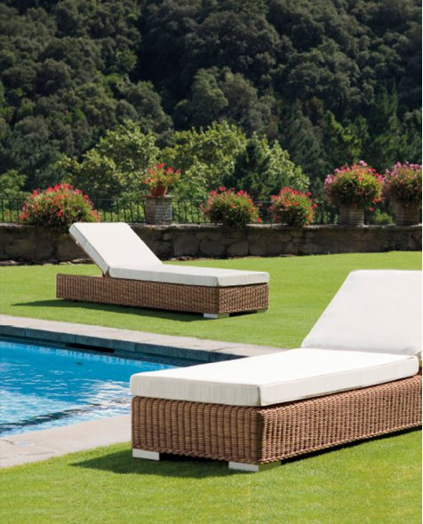 Tumbona chill out Golf para decoración de jardines