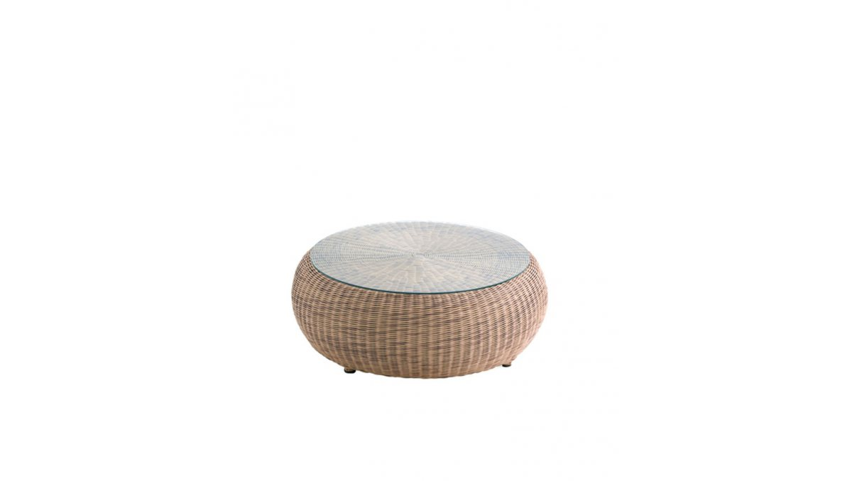 Mesa de rincón Ruedo para jardin chill out