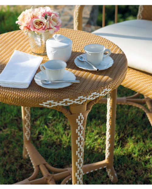 Mesa de centro Charleston para jardin chill out