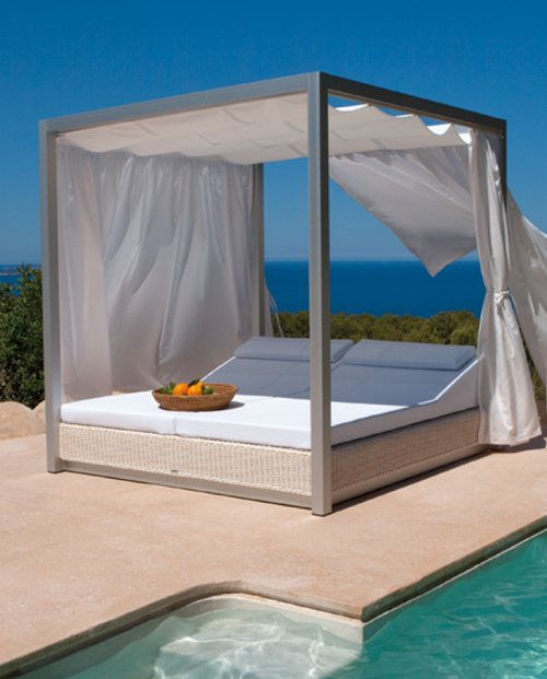 Cama balinesa chill out Sunset