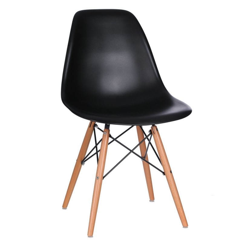 Comprar sillas vintage abs color negro venta de muebles for Sillas salon vintage