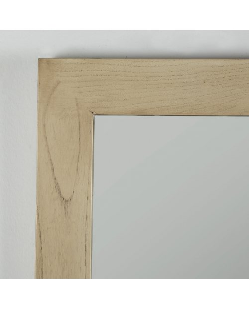 Espejo Arlon color blanco velado rectangular para decorar