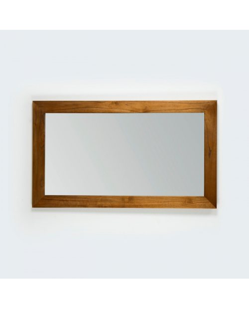 Espejo Veurne natural velado rectangular para decorar