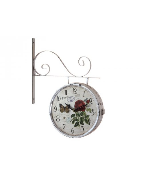 RELOJ DE PARED STATION BLANCO