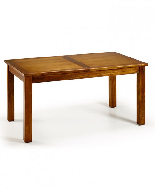 Mesa de comedor extensible de madera Flash