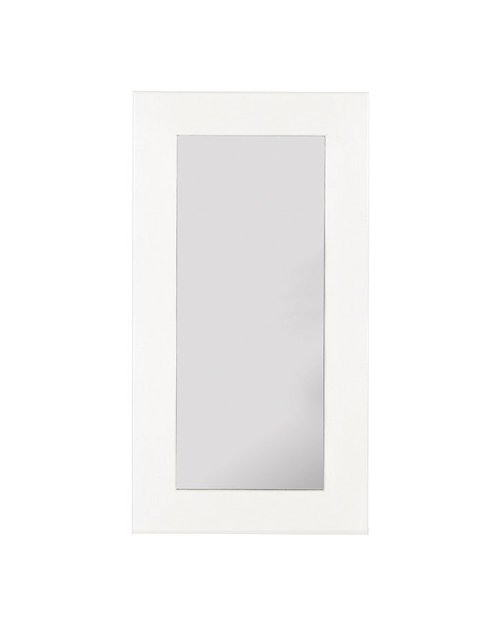 Espejo rectangular colonial New White