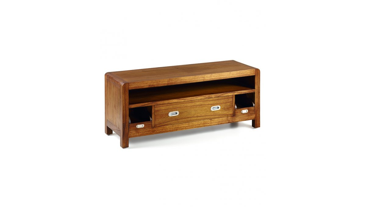 Mueble tv Flash de madera estilo colonial